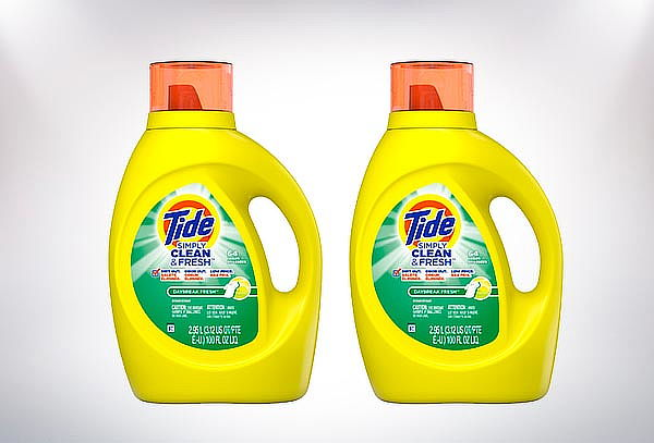 Pack 2 detergente concentrado Tide 2.95 Litros.