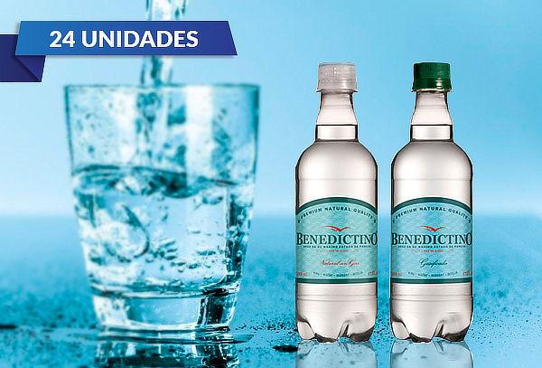 24 Botellas de Agua Purificada Benedictino Sin Gas