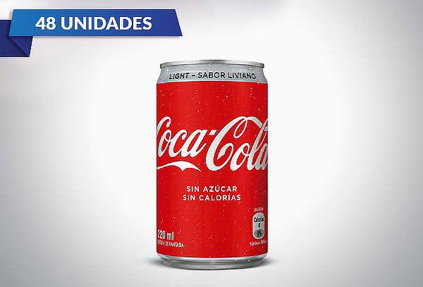 Pack de 48 Coca Cola de 220ml a elección