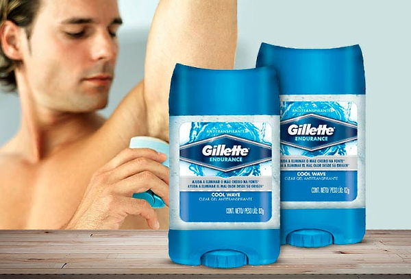 Pack 2 Desodorantes Gillette Gel Cool wave