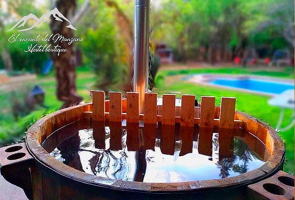 El Encanto del Manzano, Cajón del Maipo: hot tub para 2 pers