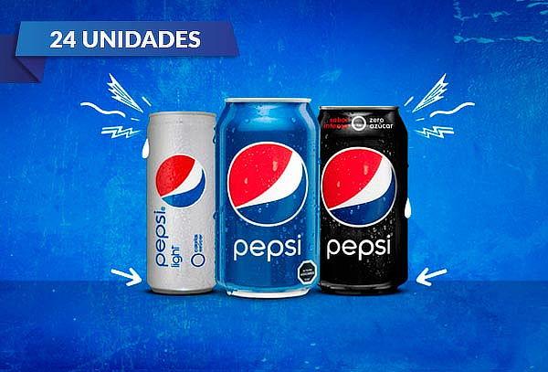 Pack 24 Latas de Pepsi a elección