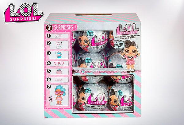 Muñeca LOL Surprise! Bling Series