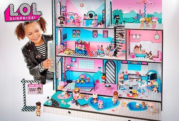 Casa para Muñecas LOL Surprise!