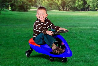 Plasma Car para Niños color Azul