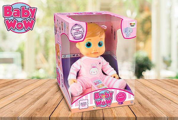 Muñeca Interactiva Baby Wow Emma