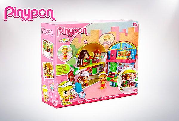 Playset de Hamburguesería Pinypon