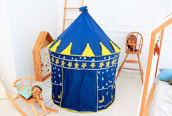 Carpa Castillo Infantil Azul