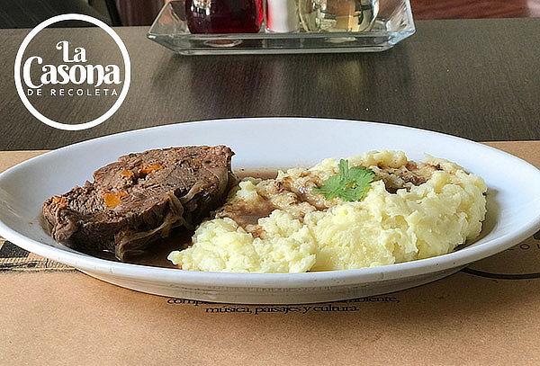 Almuerzo chileno en carta abierta para 2 personas