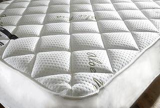 Cubre Colchón de Lujo con Aloe Vera, Biancobelo