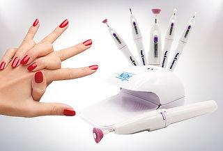 Set de Manicure y Secador de Uñas