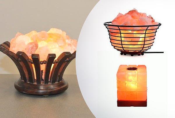 Lámparas de Sal del Himalaya a elección