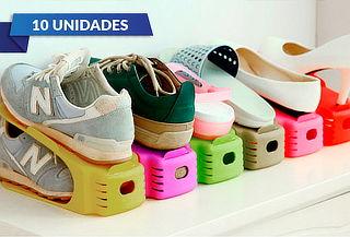 Pack de 10 acomodadores de zapatos