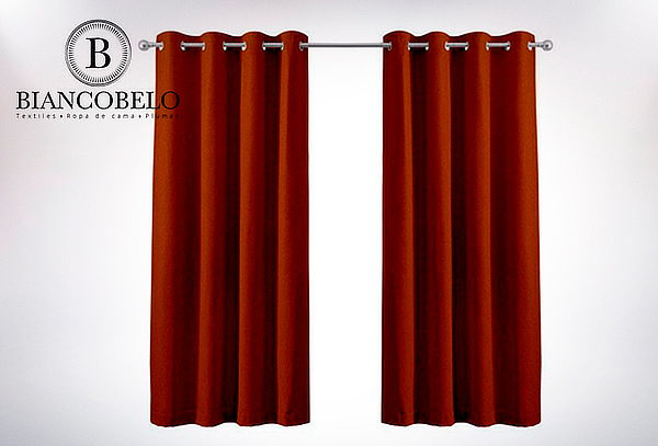 Cortina de Paño Black Out 145x250 cm, color a elección