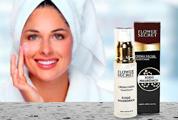 Crema Facial Antiedad de Ácido Hialuronico