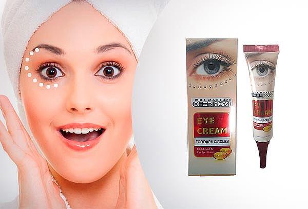 Crema para ojos con Vitamina E, Colágeno y Elastina.