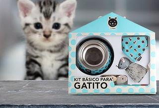 Kit Set Básico para Gatitos Primera Mascota