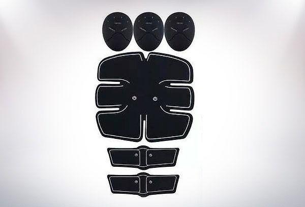 Electrofísico para abdomen y brazos ems 10 Electrodos
