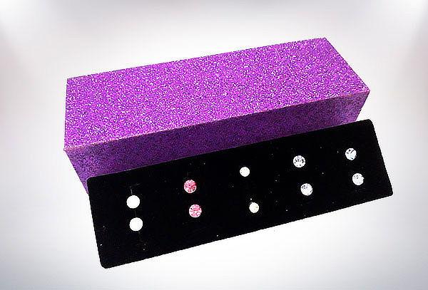 Box de Aros con Cristales