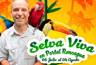 Entrada a Selva Viva + Viva Mar Mall Portal Rancagua