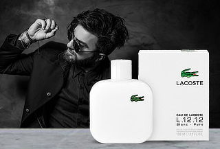 Perfume Lacoste Le Blanc L. 12.12 100ml Hombre