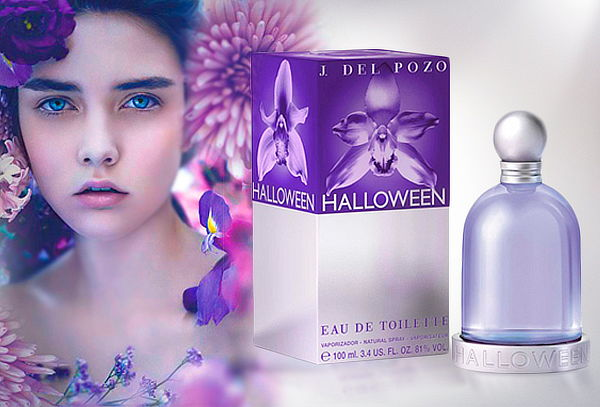 Perfume Halloween EDT de Jesús del Pozo 100 ml para Mujer