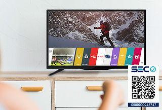 """Smart TV LED Full HD 43"""" marca GLC"""
