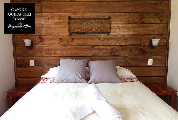 Lodge Casona Quilapulli: 2 o 3 noches para 2 o 3 personas