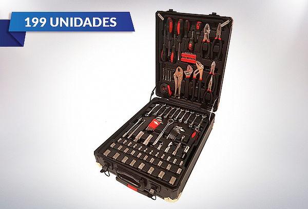 Set herramientas 199 piezas Smart Kraft