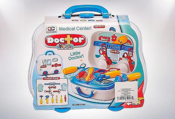 Set de Juego en Maleta Doctor para Niños
