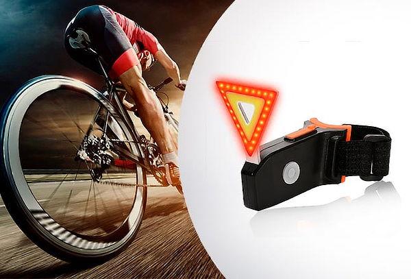 Luz Recargable USB para Bicicletas