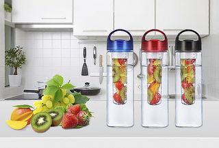 Pack de 4 Botellas Infusoras de Frutas