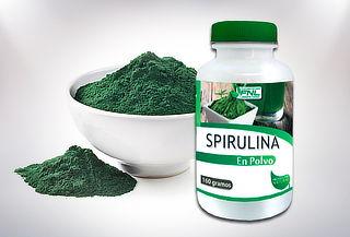 Spirulina Orgánica en Polvo 160 g Laboratorio FNL