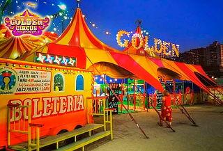 1 o 2 Entradas para Golden Circus La Reina