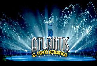 """1 o 4 Entradas a Atlantis """"El Circo Acuático"""" a elección"""