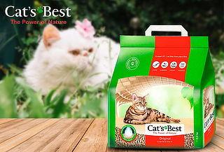 Arena Sanitaria Premium Aglutinante CatsBest Original