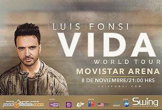 Entrada para LUIS FONSI en Movistar Arena 8 Noviembre