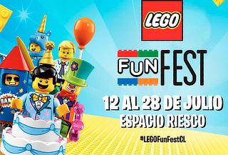 Entrada General para Lego Fun Fest 2019 en Espacio Riesco