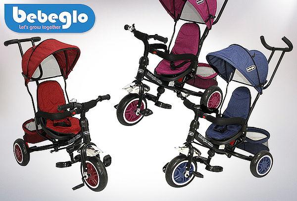 cf642de29951 Triciclo con Toldo Bebeglo RS-4045, 3 colores a elección.