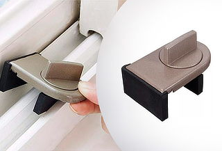 Seguro Bloqueador de Ventanas de Aluminio Correderas