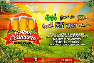 Festival Cervecero: Combo Tortuga, Chancho en Piedra y más