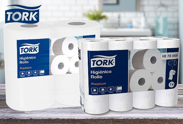 Pack 48 Rollos de Papel Higiénico Premium Tork 20 Mtrs