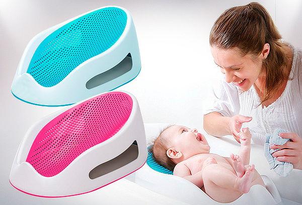 Soporte de Bañera para Bebés Rosado o Celeste