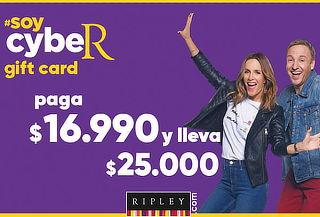 Gift Card $25.000 en Calzado y Vestuario en Ripley