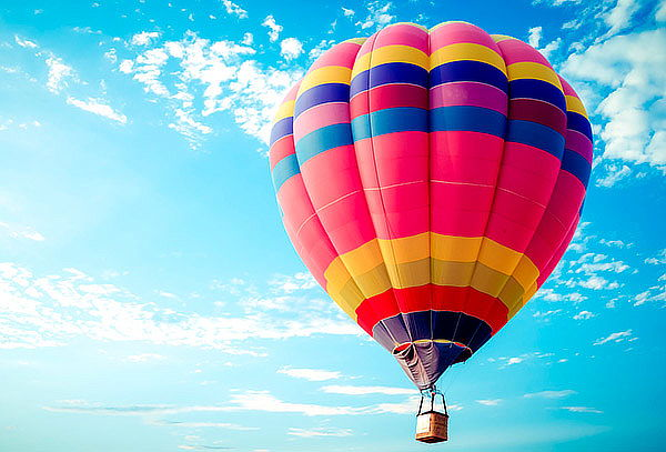Vuelo Cautivo en Globo Aerostático para 2 personas