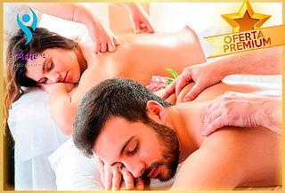 Masaje de Relajación Premium en Cuerpo Completo para 2