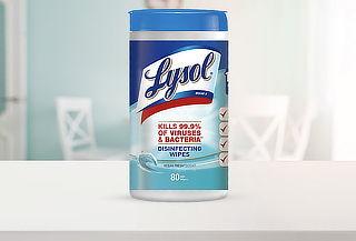 Pack de 2 Lysol Wipes de 160 Unidades