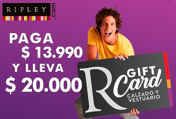 Gift Card 20.000 en Calzado y Vestuario en Ripley