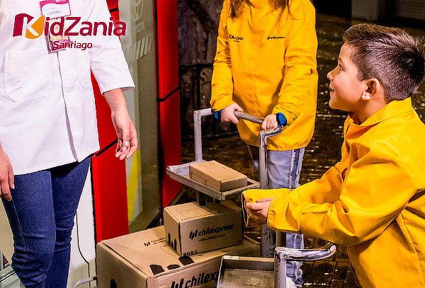 Entradas Parque KidZania® Adulto + Niño