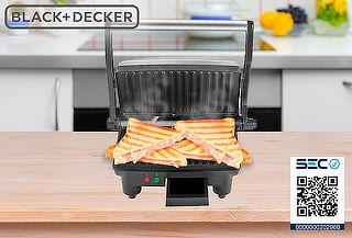 Sandwichera Panini Black & Decker